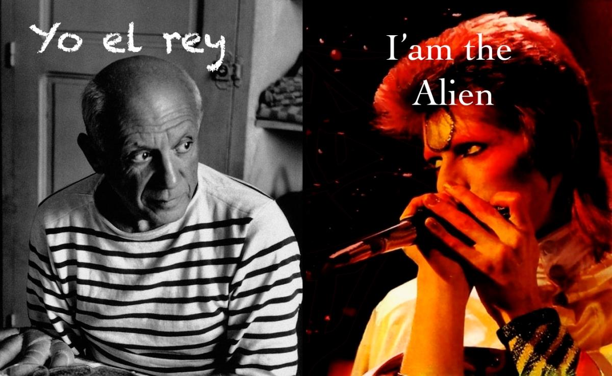 Picasso y Bowie / grandes referentes del siglo XX