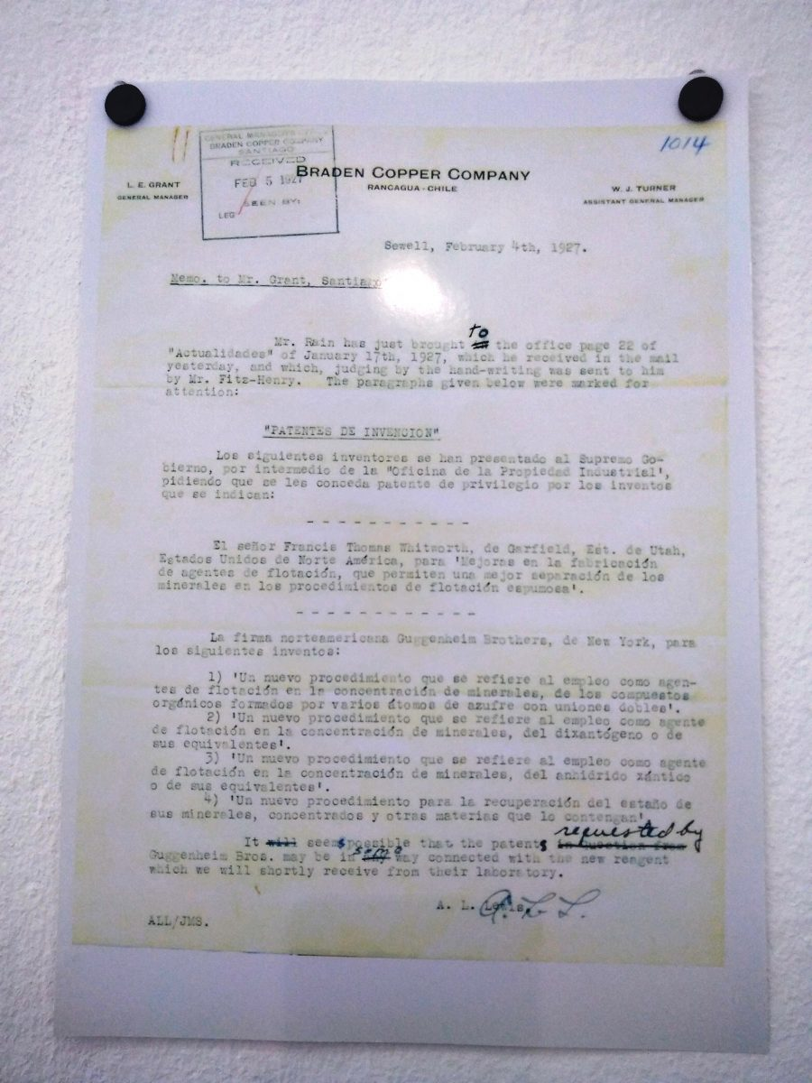 Documento de los Guggenheim