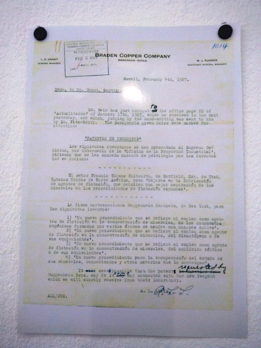 Documento de los Guggenheim